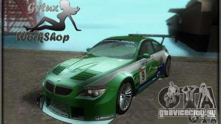 Alpina B6 GT3 для GTA San Andreas