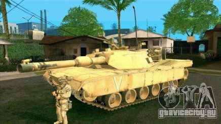 M1A2 Abrams из COD4: MW для GTA San Andreas