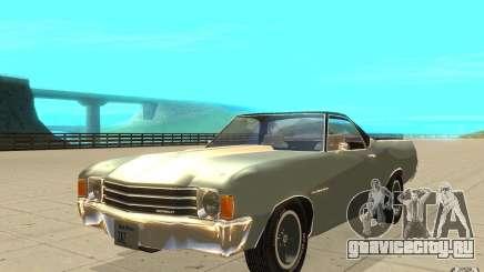 Chevrolet El Camino 1972 для GTA San Andreas