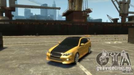 SUBARU Legacy B4 tuning для GTA 4