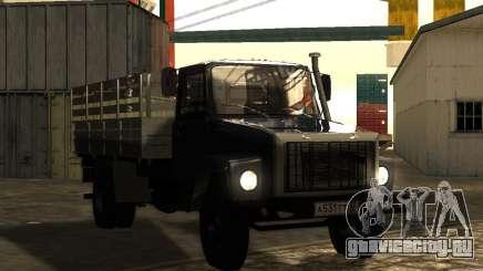 ГАЗ 3309 Бортовой для GTA San Andreas