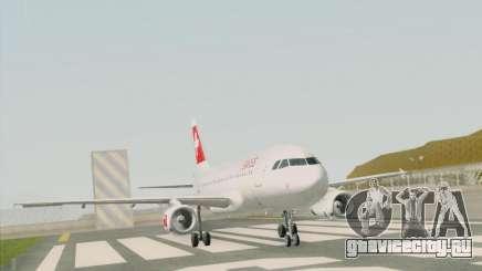 Airbus A319-112 Swiss International Air Lines для GTA San Andreas