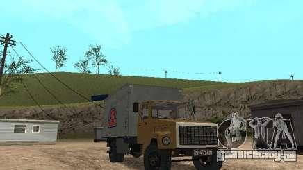 ГАЗ 3309 CR v2 для GTA San Andreas