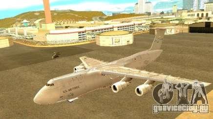 Lockheed C-5M Galaxy для GTA San Andreas