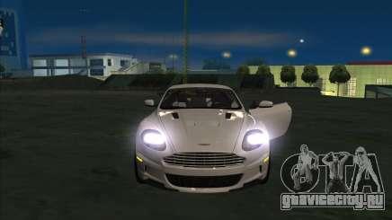 Aston Martin DBS 2009 для GTA San Andreas