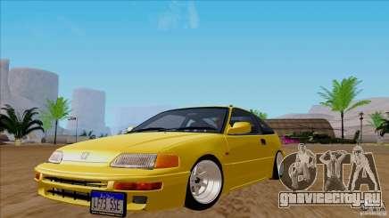 Honda CRX Hella Flush для GTA San Andreas
