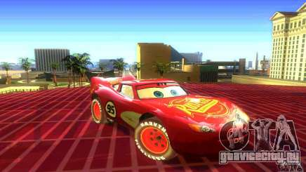 MCQUEEN from Cars для GTA San Andreas