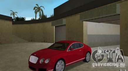 Bentley Continental GT (Final) для GTA Vice City