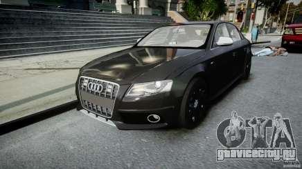 Audi S4 Unmarked [ELS] для GTA 4