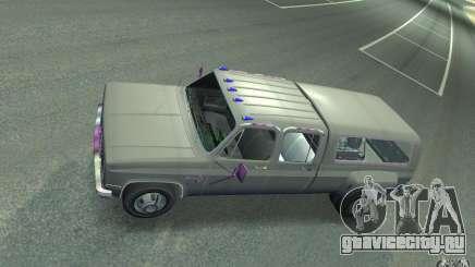 Chevrolet Silverado серебристый для GTA 4