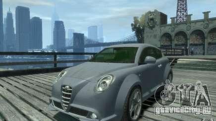 Alfa Romeo Mito серебристый для GTA 4