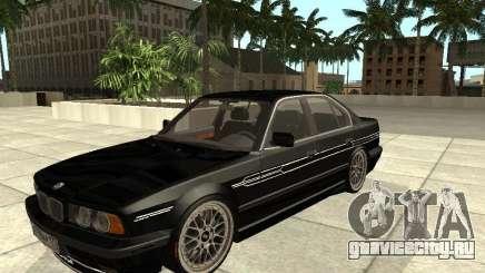 BMW E34 Alpina B10 Bi-Turbo для GTA San Andreas