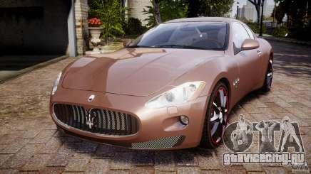 Maserati GranTurismo v1.0 серебристый для GTA 4