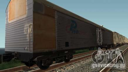 Рефрежираторный вагон Дессау №9 для GTA San Andreas