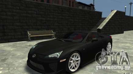 Lexus LFA v1.0 для GTA 4