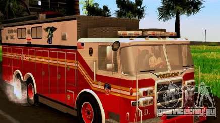 Pumper Firetruck Pierce F.D.N.Y для GTA San Andreas