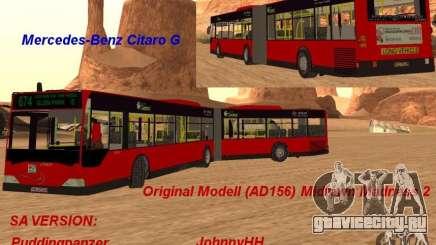 Mercedes-Benz Citaro G для GTA San Andreas