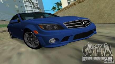 Mercedes-Benz C63 AMG 2010 для GTA Vice City