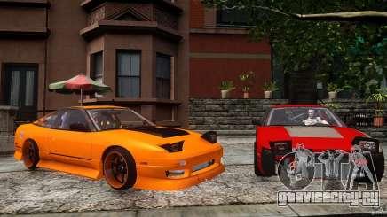 Nissan 240SX Korch для GTA 4