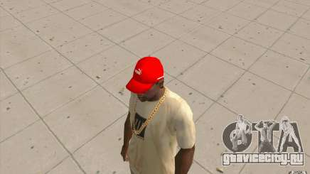 Кепка puma ярко красная для GTA San Andreas