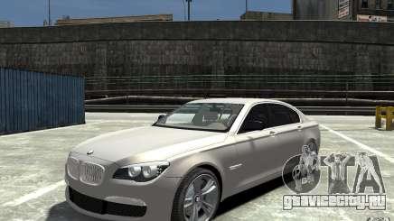 BMW 750i F01 v3 для GTA 4