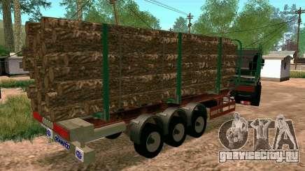 Прицеп для КамАЗ 65117 для GTA San Andreas