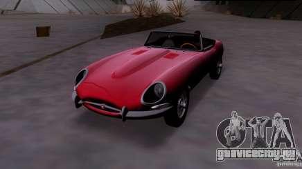 Jaguar E-Type 1966 для GTA San Andreas