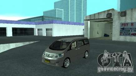 Toyota Alphard G Premium Taxi indonesia для GTA San Andreas