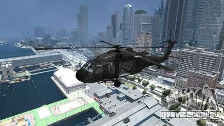 Sikorsky UH-60 Black Hawk для GTA 4
