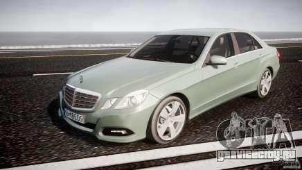 Mercedes-Benz E63 2010 AMG v.1.0 для GTA 4