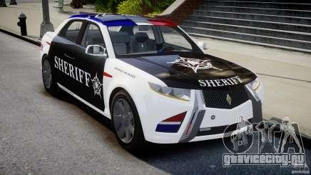 Carbon Motors E7 Concept Interceptor 2012 Sheriff [ELS] для GTA 4