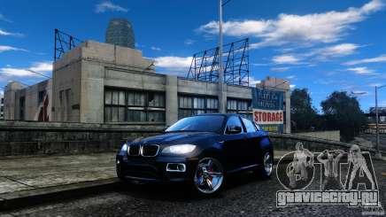 BMW X6 2013 для GTA 4