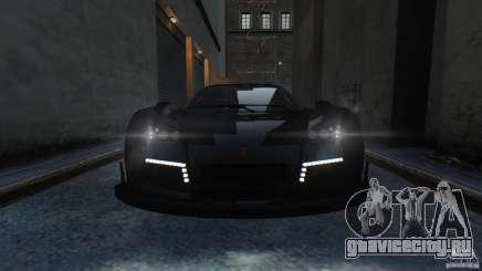Gumpert Apollo Sport 2011 v2.0 чёрный для GTA 4