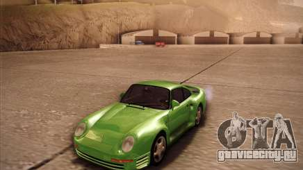 Porsche 959 1987 олива для GTA San Andreas