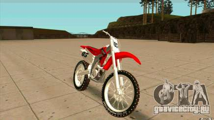 Honda CRF450R Extreme Edition FINAL для GTA San Andreas