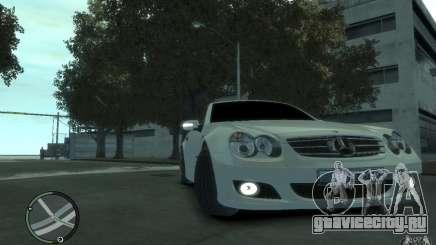Mercedes-Benz SL 500 2006 для GTA 4