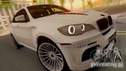 BMW X6 Hamann белый для GTA San Andreas