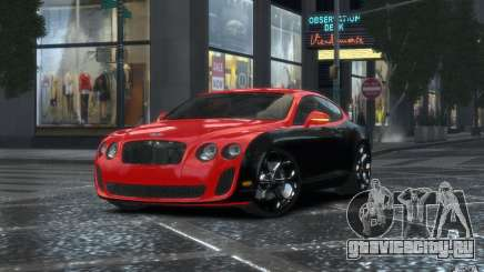 Bentley Continental SS MansorY для GTA 4