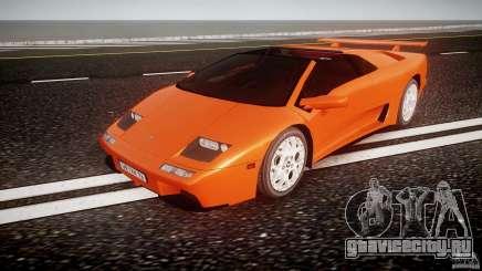 Lamborghini Diablo 6.0 VT для GTA 4