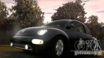 Volkswagen Beetle чёрный для GTA 4