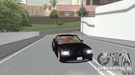 Mercedes-Benz C126 500SEC KS для GTA San Andreas