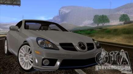 Mercedes-Benz SLK 55 AMG для GTA San Andreas