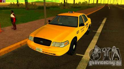 Ford Crown Victoria Taxi 2003 для GTA Vice City