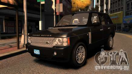 Range Rover TDV8 Vogue для GTA 4