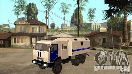 КамАЗ Милиция для GTA San Andreas