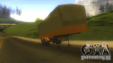 Прицеп МАЗ 5205 для GTA San Andreas