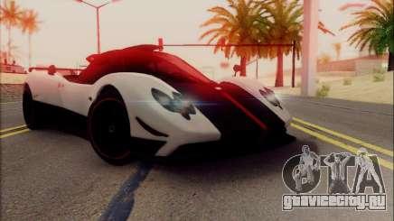 Pagani Zonda Cinque белый для GTA San Andreas