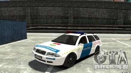 Skoda Octavia Kombi 2005 Hungarian Police для GTA 4