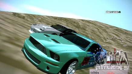 Ford Shelby GT500 Falken Tire Justin Pawlak 2012 для GTA San Andreas