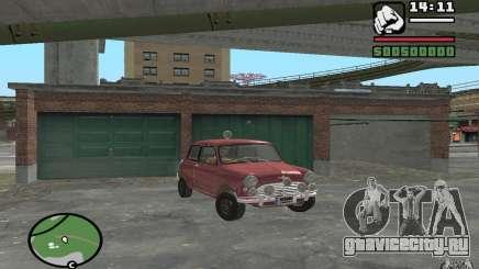 Mini Cooper S бордовый для GTA San Andreas